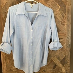 Joie Chambray Blouse